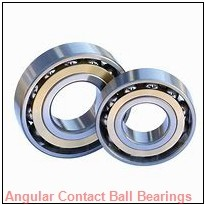 75 mm x 130 mm x 25 mm  SKF QJ 215 MA  Angular Contact Ball Bearings